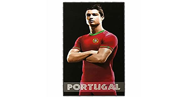 Amazon.com : Cristiano Ronaldo Giant Portugal Soccer Beach Towel (180cm x 100cm) : Sports & Outdoors