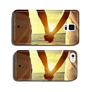 couple on the beach cell phone cover case iPhone5
