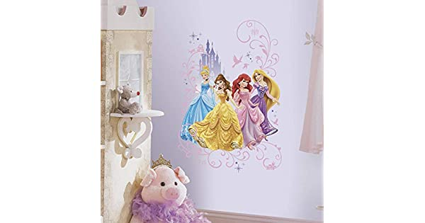 Amazon.com: York Wallcoverings rmk2799tb Disney Princess ...