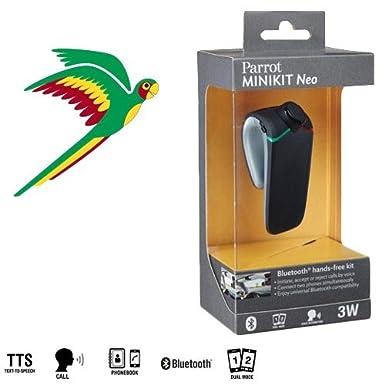 Parrot Minikit Neo Wireless Bluetooth Handsfree Speakerphone Car Kit