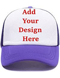 bf36a40f34d Custom Graphic Printed Trucker Hat Creative Personalized Snapback Baseball  Hats Unisex Funny Mesh Caps
