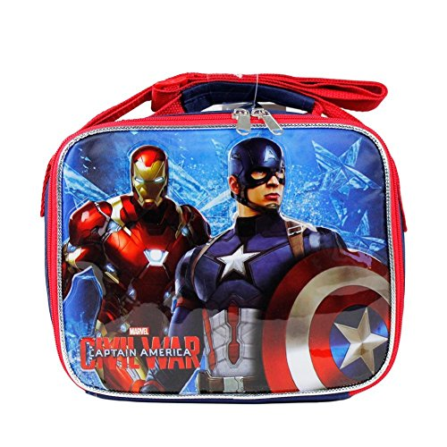 Marvel Captain America Civil War Insulated Lunch Bag for Boys