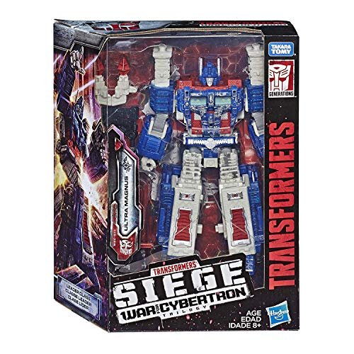 (Transformers Generations War for Cybertron: Siege Leader Class WFC-S13 Ultra Magnus Action Figure)
