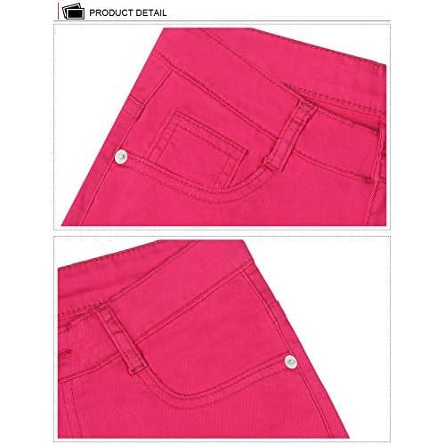 Demon/&Hunter 823 Series Mujer Corto Pantalones Vaqueros