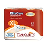 Tranquility EliteCare® Maximum Absorbency Tape-Tab Style Brief … (XL - 12 Count)