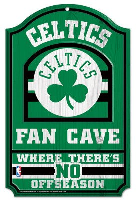 - WinCraft NBA Boston Celtics 38314012 Wood Sign, 11