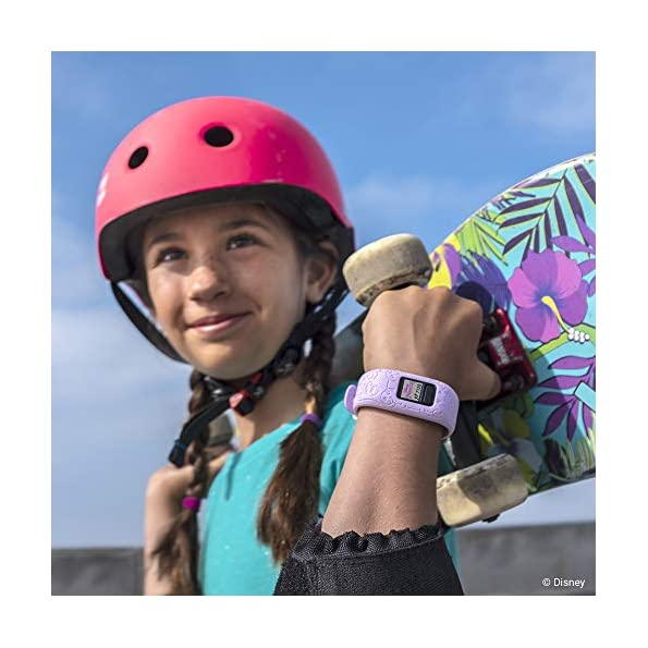 Garmin-Vivofit-Jr2-Activity-Tracker-per-Bambini-Cinturino-Regolabile-Disney-Principesse-Rosa-6-Anni-in-su