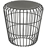 Deco 79 28987 Metal Accent Table, 17 x 18