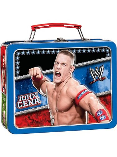 WWE Metal Box Carry All Party Accessory by Amscan