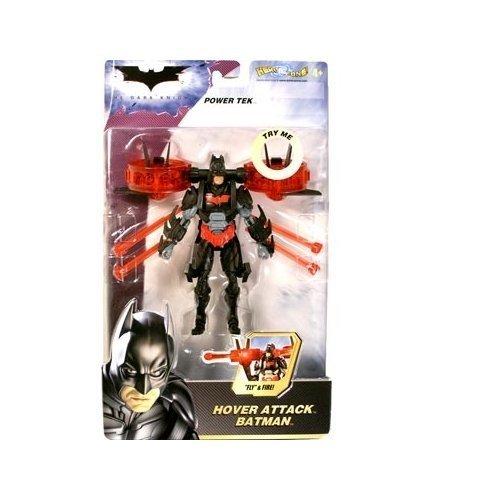 Dark Attack Knight Bat (Batman Dark Knight Movie Power Tek Hover Attack Batman by Mattel)