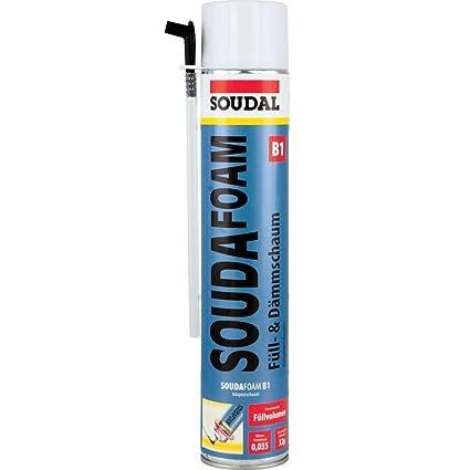 "Soudal 101351 ""SOUDAFOAM B1"" relleno de espuma de poliuretano, ..."