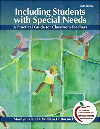 85afa23bbd Including Students with Special Needs  A Practical Guide for Classroom  Teachers (6th Edition) 6th Edition