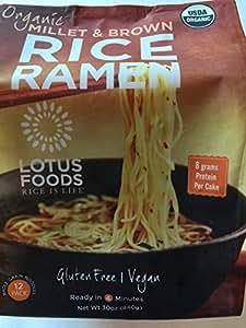 Organic Brown Rice Ramen (12 Pack Per Bag)