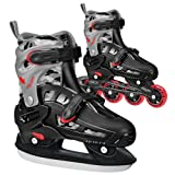 Lake Placid Falcon Q-70 Ice/Inline Combo Boys Skates