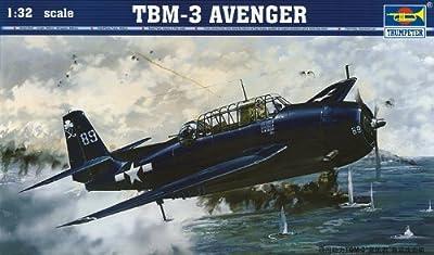 Trumpeter 1/32 TBM3 Avenger Aircraft