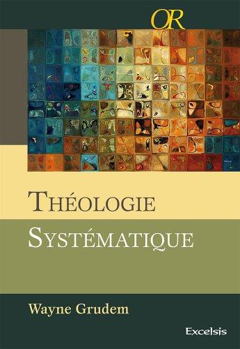Théologie systématique couverture rigide quadri