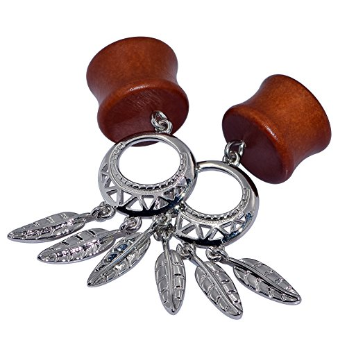 0 gauge plugs dream catcher - 7