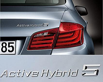 E736 Active Hybrid 5 Emblem Badge Auto Aufkleber 3d Lettering Rear Side Car Sticker Mobil