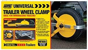 Maypole MP9061 - Mordaza universal para ruedas de remolques