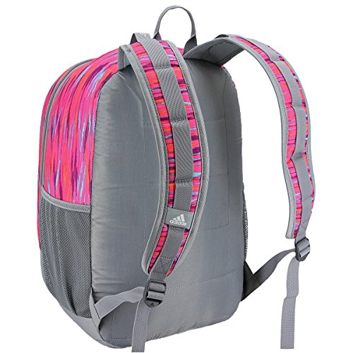 adidas Excel III Backpack, Shock Pink Twister/Black/Shock Pink, One Size by adidas (Image #2)