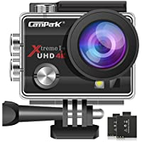Campark ACT74 Action Camera 16MP 4K WiFi Underwater...