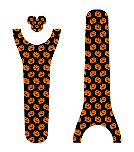 (Disney Magic Band Decal Sticker Skins Halloween Pumpkins Galore Magic Band)