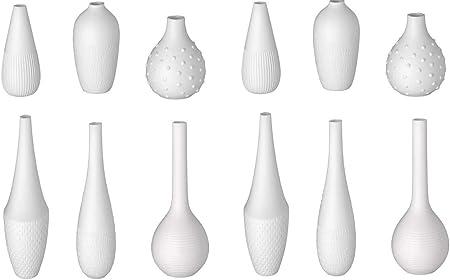 RUOTE Design mini vasi CASA VASI ROSSO 4 pezzi