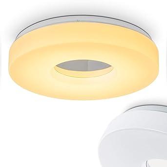 LED Deckenleuchte Loris – Deckenlampe in runder Form aus Aluminium ...