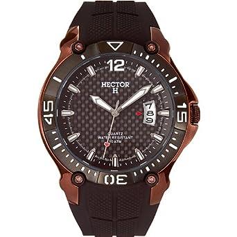 Hector H Herren-Armbanduhr Analog Quarz Plastik 665053