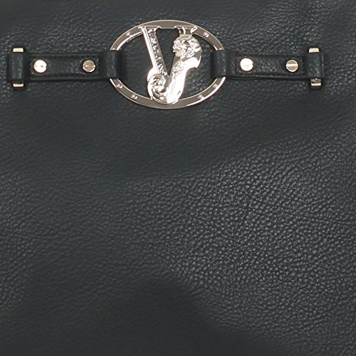 Jeans Donna A Versace Tracolla e1vqbbj775476 Poliestere Borse Nero aBBFvxd