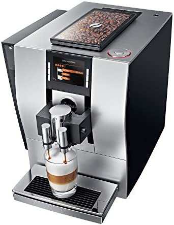 JURA Satin Silver Z6 Fully Automatic Bean-to-Cup Coffee And Espresso Machine