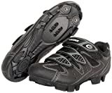 Exustar E-SM324 Cycling Shoe,Black,8.5 M US