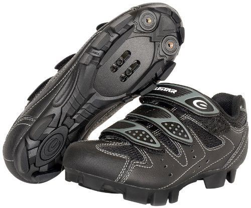 EXUSTAR E SM324 MTB Shoe 45 Euro or 11 US, Black