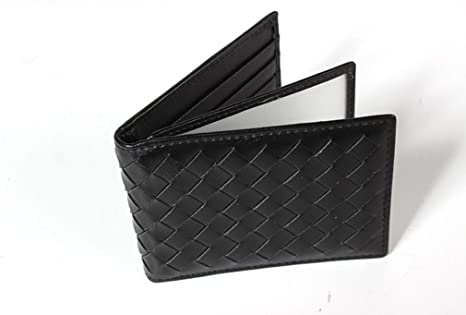 Mens Leather Wallet RFID Blocking Credit Card Holder Coin Pocket Purse 11x8x1CM