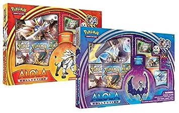 Colección de Cartas de Pokémon POK80192 Juego para Cambiar Cartas de Alola (en inglés)
