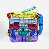 Hamster, Mice & Gerbil Cage | Small Animal CritterTrail 2-Level Habitat