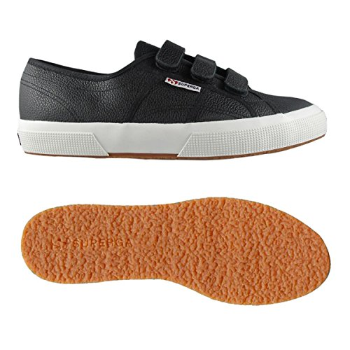Basso Collo a Unisex white Sneaker efgl3velu Adulto Superga Black 2750 wxIBq4ttX