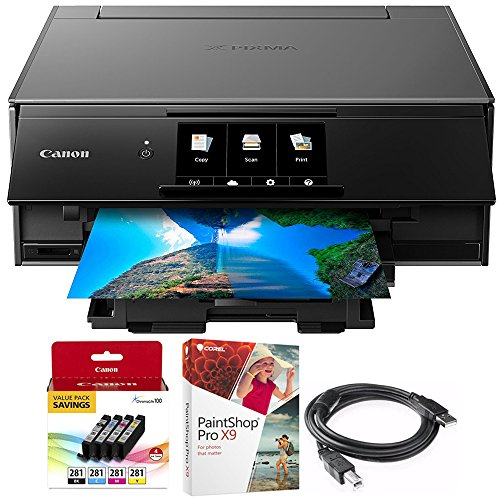 Canon PIXMA 9120 Printer with Corel Paint Shop Pro X9 Digita