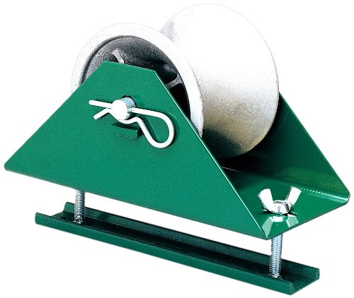 Greenlee 658 Cable Pulling Sheave, Tray-Type, 12-Inch