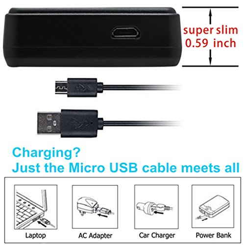 Kastar Battery (X2) & LCD Slim USB Charger for Sony NP-BG1 NPBG1 NP-FG1 NPFG1 and Cyber-shot DSC-W120 W150 W220 DSC-H3 H7 H9 H10 H20 H50 H55 H70 DSC-HX5V DSC-HX7V DSC-HX9V DSC-HX10V DSC-HX30V by Kastar (Image #2)