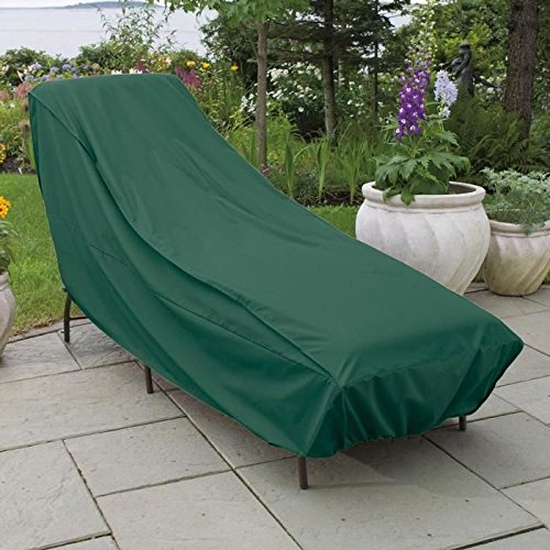 Weather wrap wicker chaise cover patio furniture covers for Chaise covers outdoor furniture