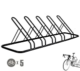 CyclingDeal 1-5 Bike Floor Parking Rack Storage Stand Bicycle