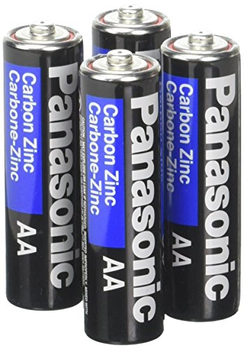 Panasonic Heavy Duty AA Battery 4 Pack (Carbon Duty Heavy Super)