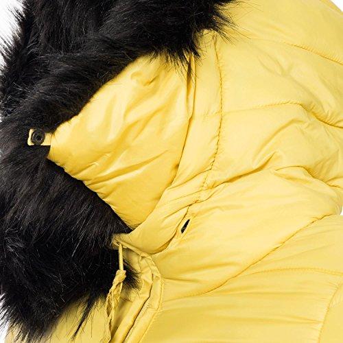 Abrigo Marikoo Colores xxl 13 Mujer Amarillo Xs Para Rose De Invierno qqPnw045r