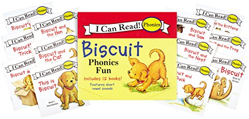 Biscuit Phonics Fun (My First I Can (8 Week Satin)