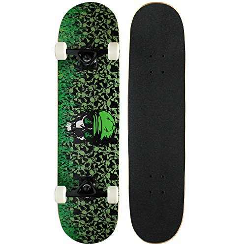 Krown Intro Skateboard, Green ()