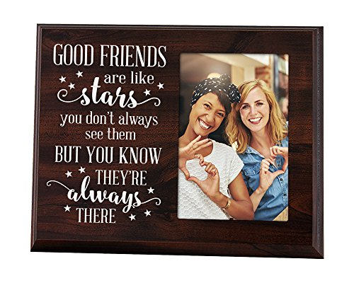 Elegant Signs Good Friends are Like Stars Sign Picture Frame Friend Gift Bridesmaid Gift for Bridesmaid Proposal Long Distance Friendship