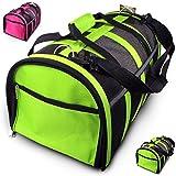 Cheap Trip Essentials Under-Seat, Folding Airline Pet Carrier (Green)