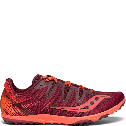 Saucony Women's Carrera XC 3 Flat Track Shoe Berry/Vizi red 7.5 M US by Saucony (Image #6)