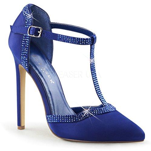 Pleaser SEXY-25 SEXY25/BLUSA Blue Satin